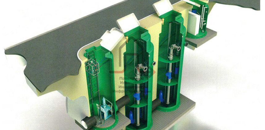 Реконструкция очистных сооружений ливневой канализации производительностью не менее 5000 м3/час