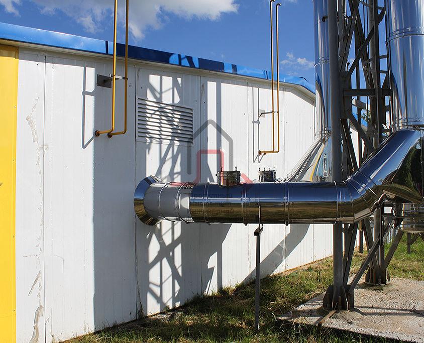 «Строительство 5-ти блочно-модульных водогрейных газовых котельных»