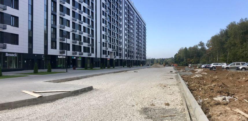 Авторский надзор «2-ой этап строительства улицы в жилой застройке в зоне II общественного центра города»