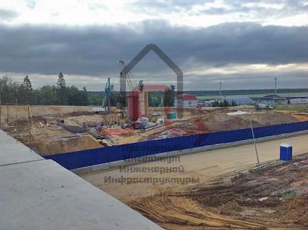 Проект реконструкции инженерных сетей в «Домодедово»