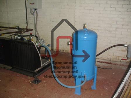 Разработка проектной документации компрессорной станции сжатого воздуха ЗАО «Свирь»