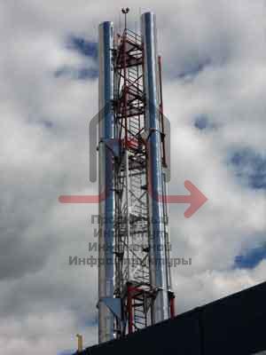 Модернизации дымовых труб модульной котельной ОАО «СПМБМ «Малахит»