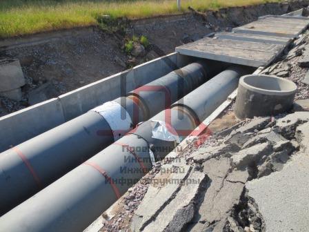 Работы по разработке и согласованию проектной и рабочей документациимагистральных тепловых сетейобъектов ГУП «ТЭК СПб»