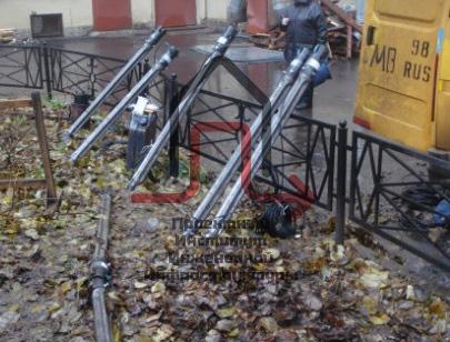 Разработка проекта пореконструкции установки защиты газопроводов ул. Боровая