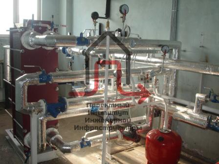 Разработка проекта теплового узла «Северо-Западная ТЭЦ» ОАО «ИНТЕР РАО ЕЭС»