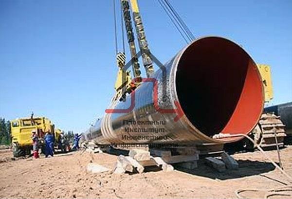 Разработка проекта установок электрохимической защиты водовода Dy-1400мм.