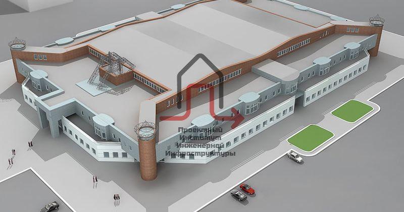 Разработка проекта тепловой сети и индивидуального теплового пункта учебно-спортивного комплекса Межвузовского Студенческого Городка.