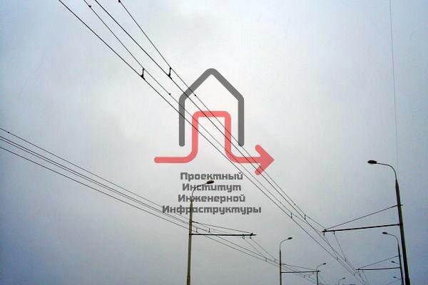 Разработка ПД переустройства контактной сети троллейбуса СПб